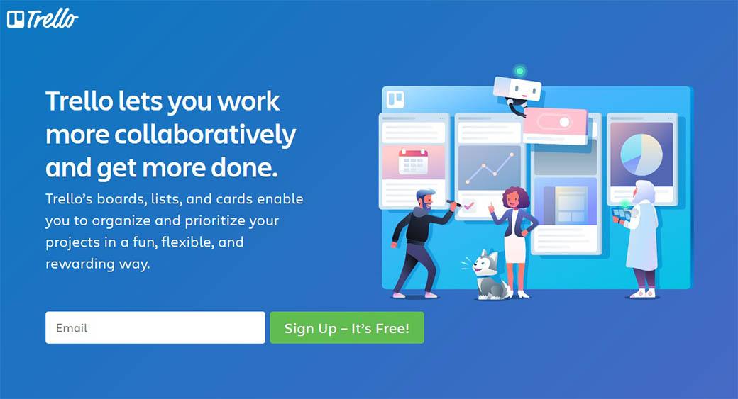 Trello for designers' collaboration