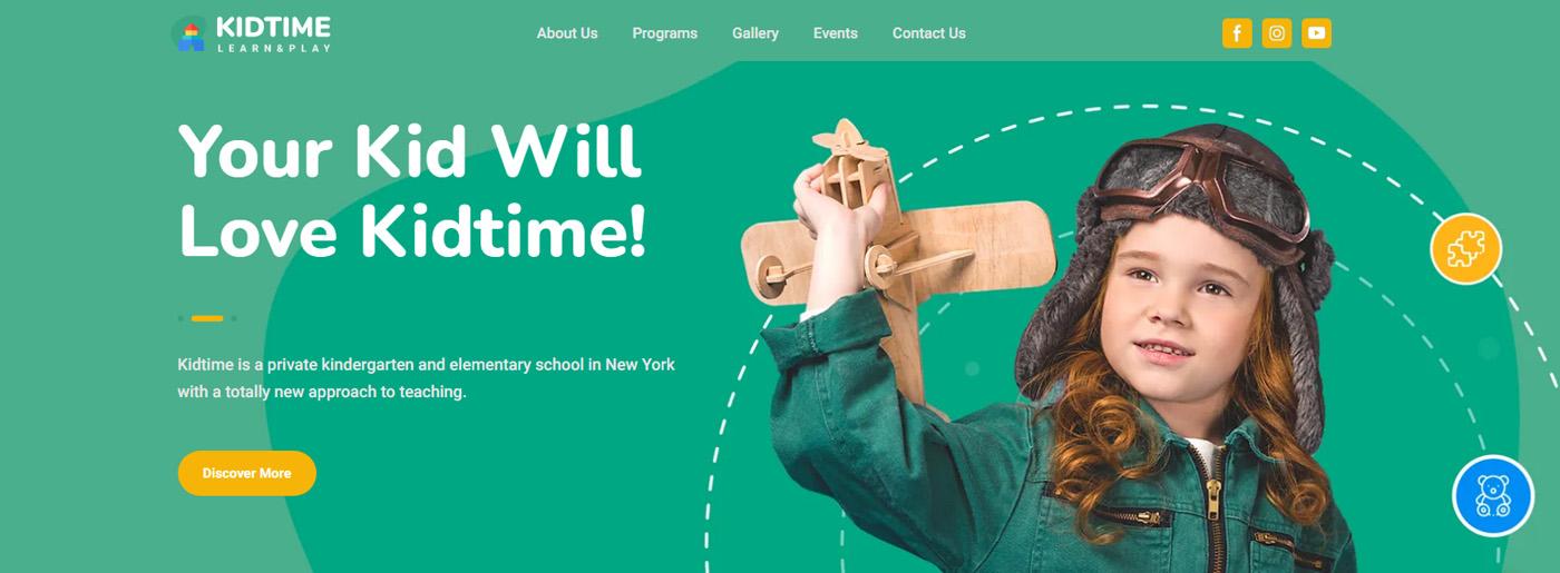 Kindergarden Website