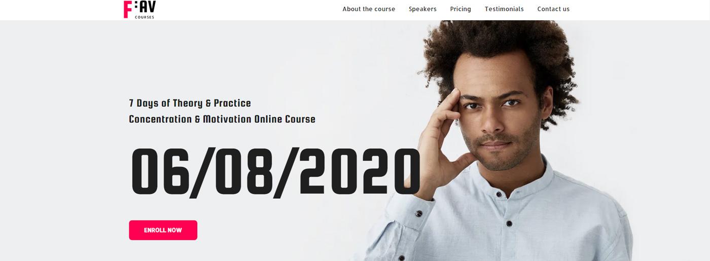 Online Course Theme