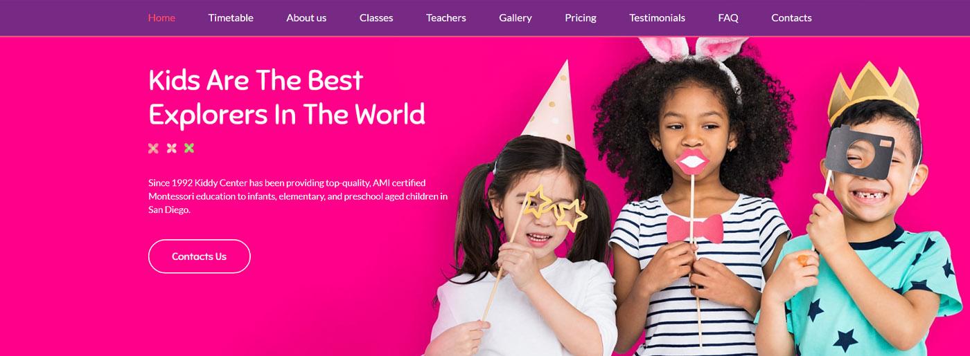 Website for Kids