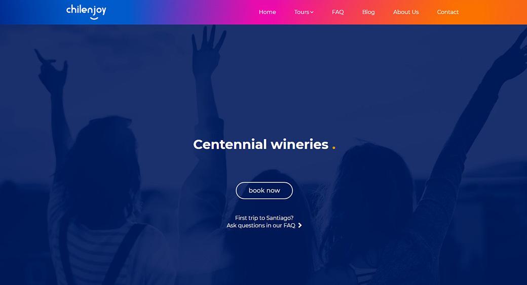 Chilenjoy - web design Brazil agency creation