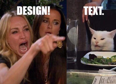 Visual Content vs Text Content - Epic Face-off with Obvious Winner