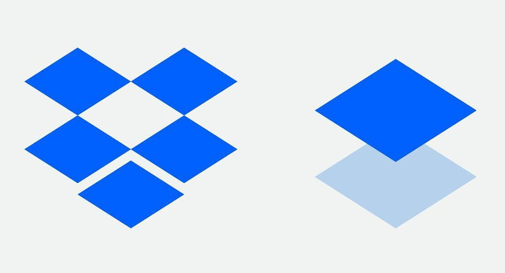 single image dropbox logo design