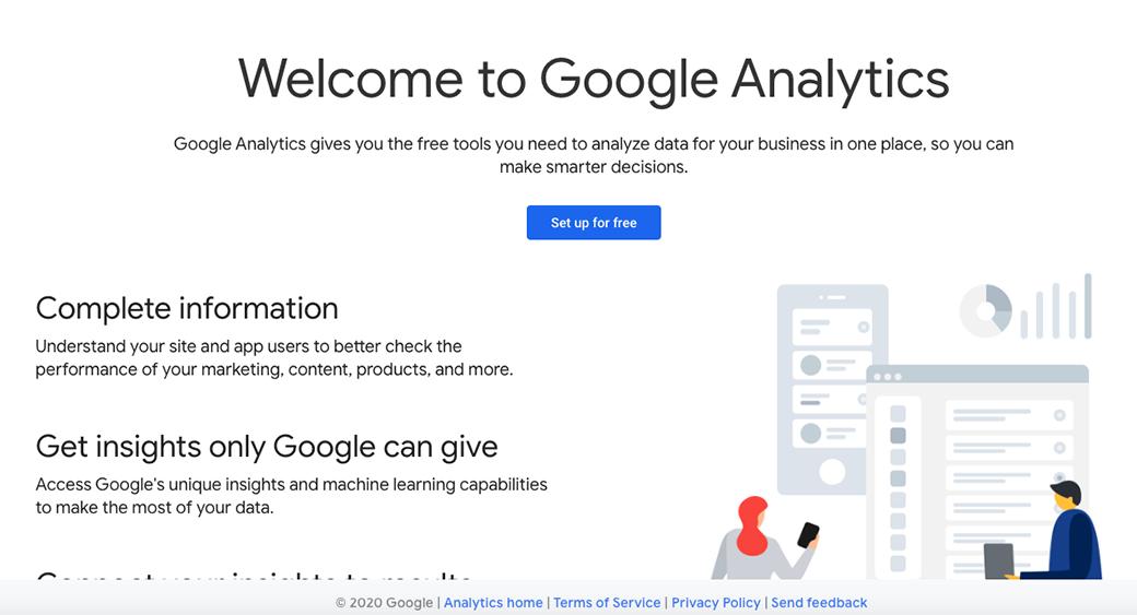 google analytics tool image