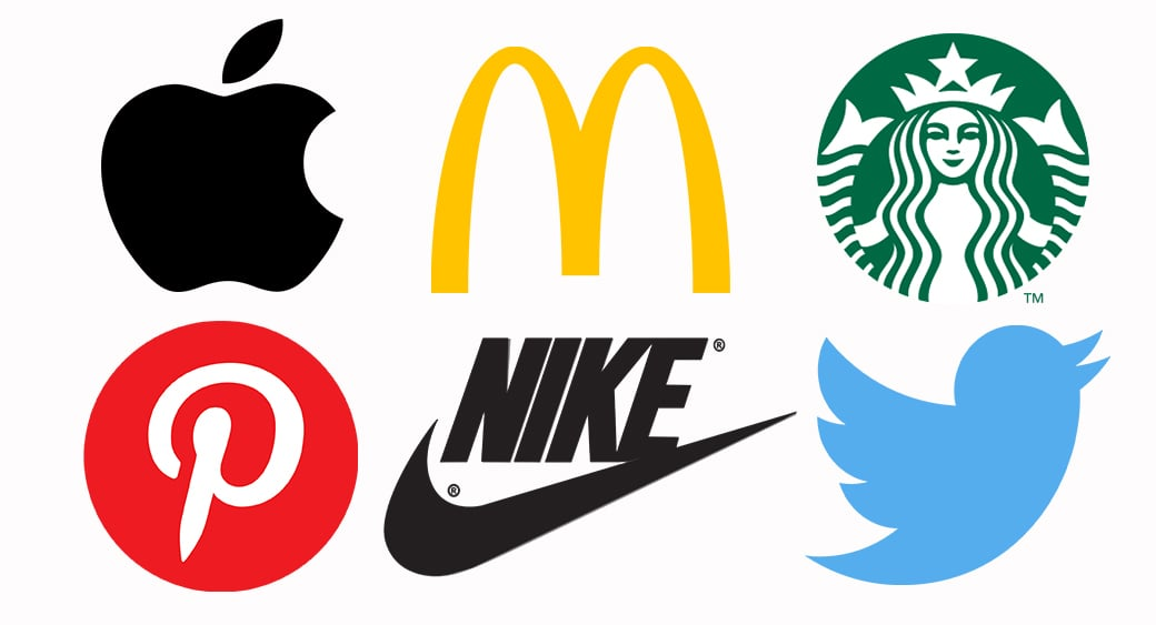 one color brand logos image
