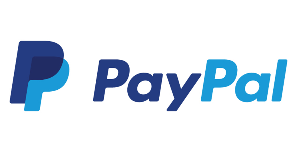 overlapping paypal logo