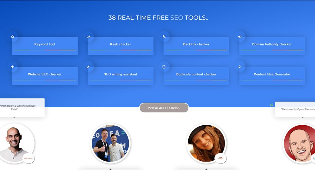 seo review tools image