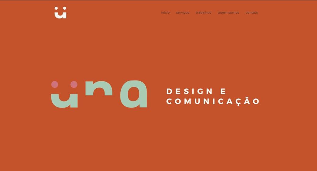 una design studio website
