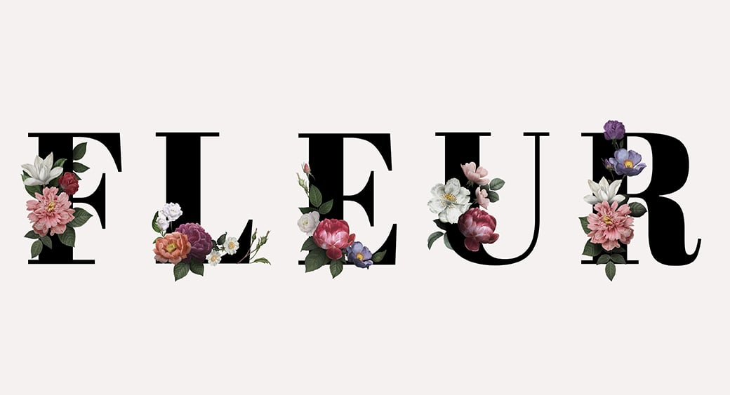 custom font logo design