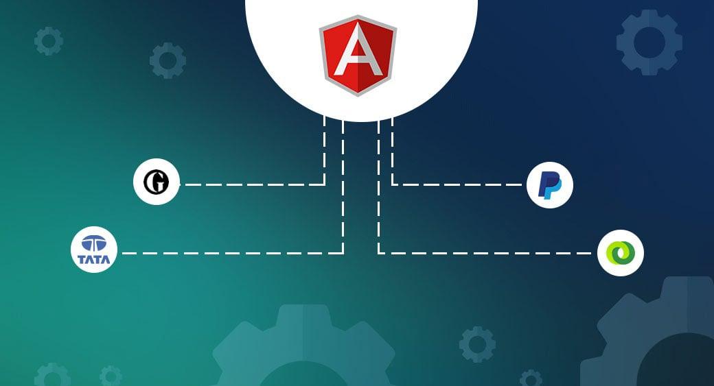 Angular framework image and users