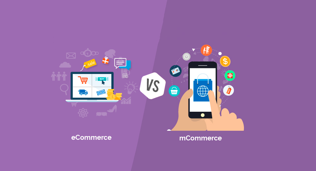 eCommerce vs mCommerce featured image