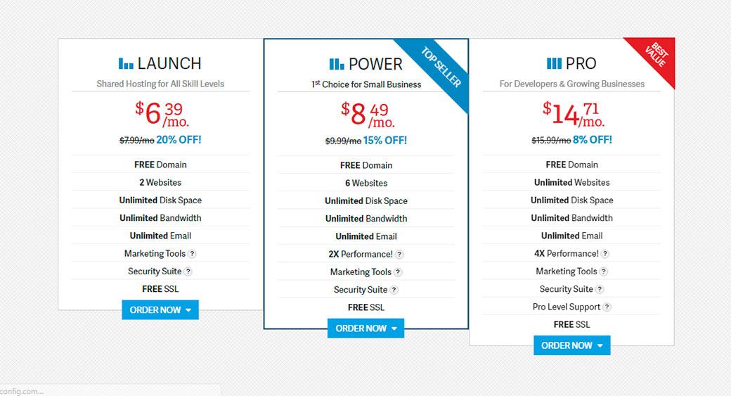InMotion pricing plan