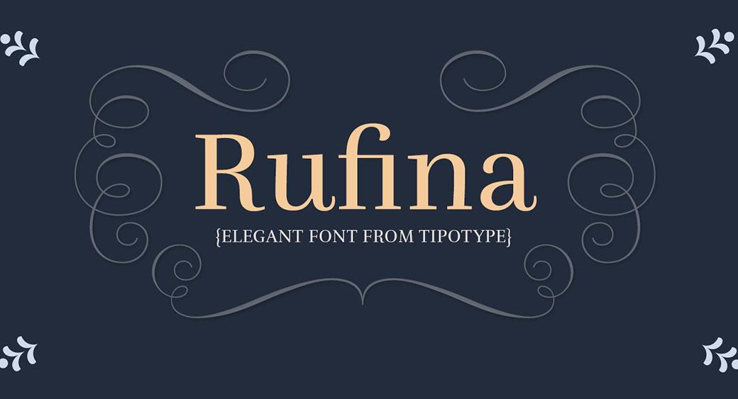 Rufuna font