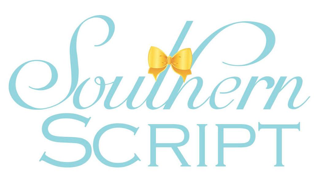 logo design fonts southern script font