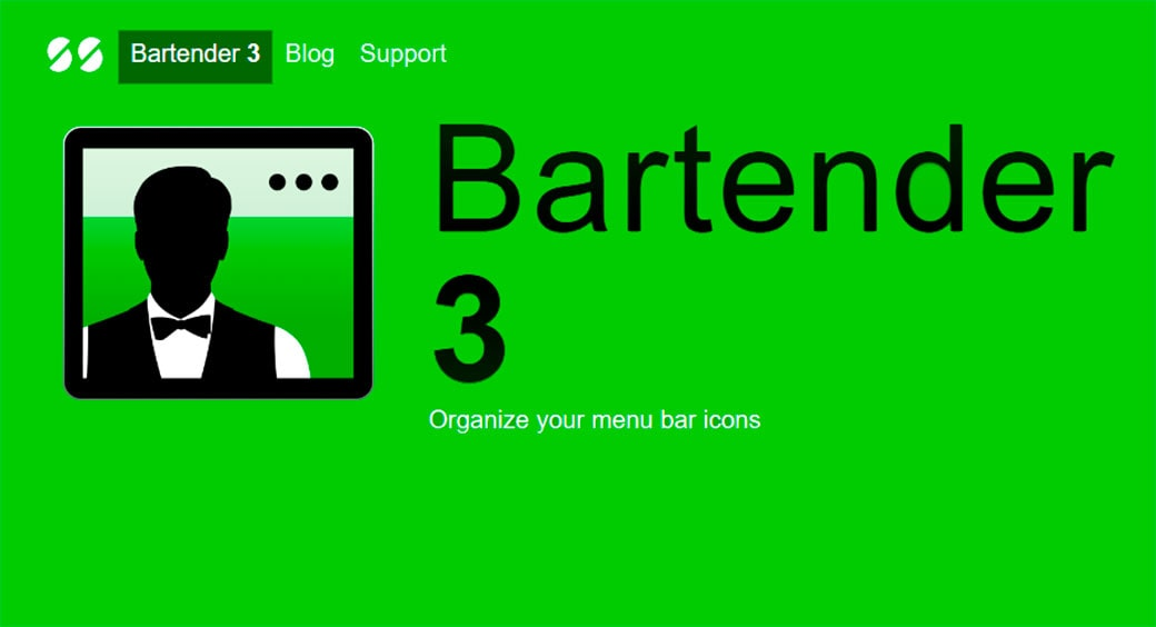 Bartender Mac Apps for Productivity