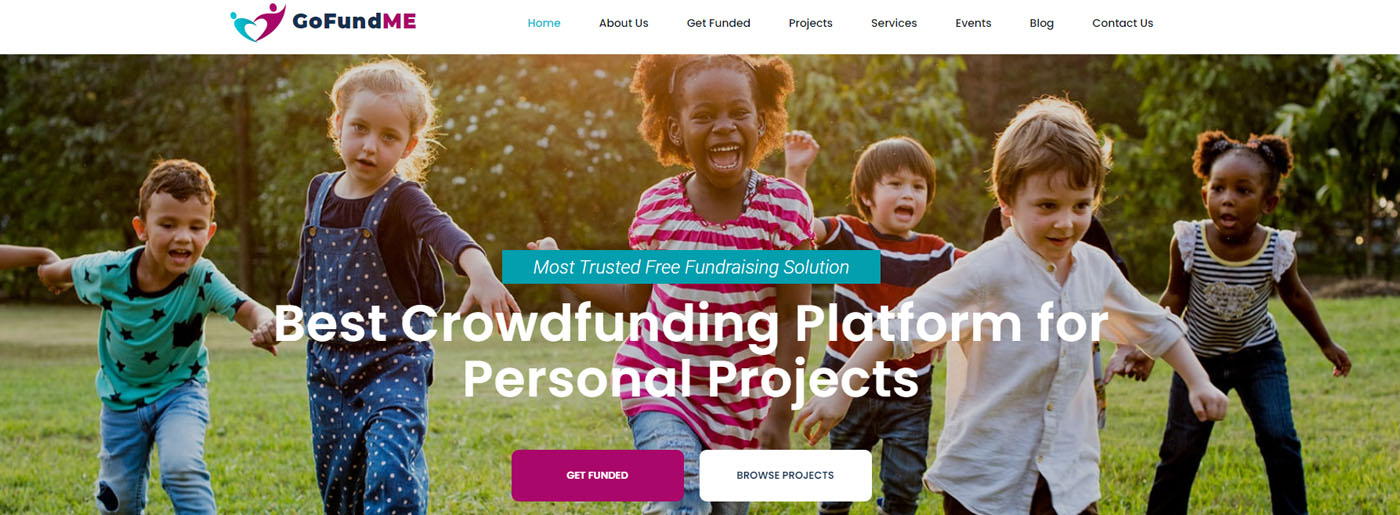 Crowdfunding Website Design for Personal Projects