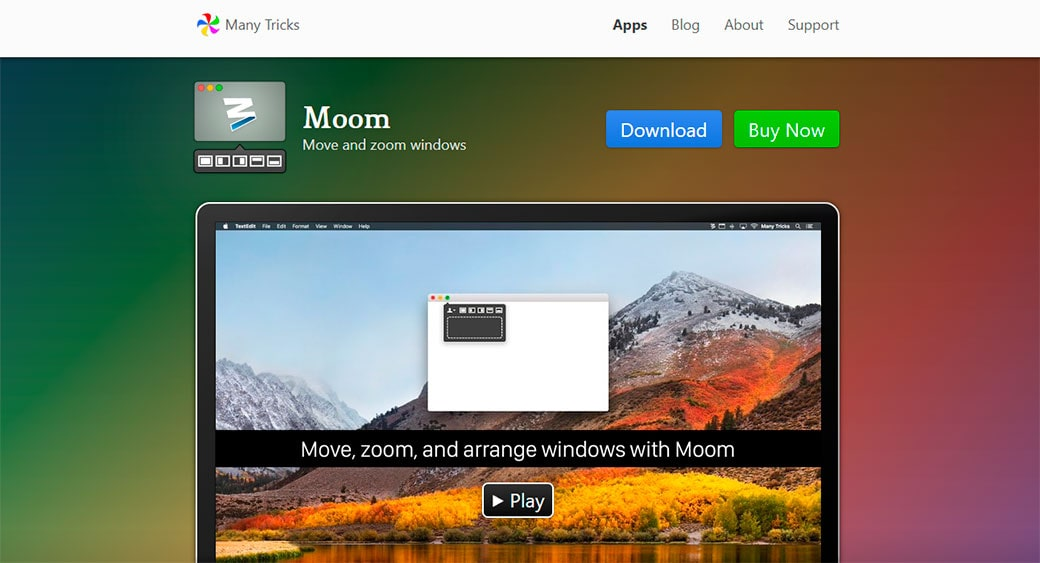 Moom for Mac