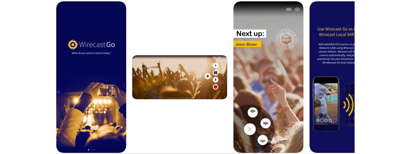 Wirecast Go Livestream App