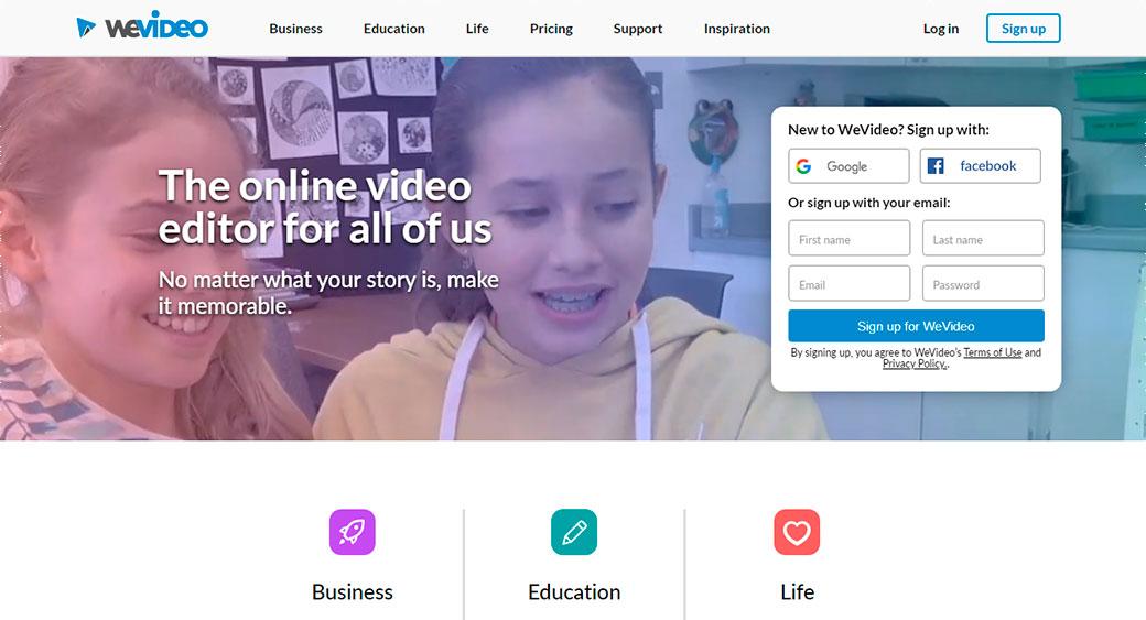 WeVideo Online Service