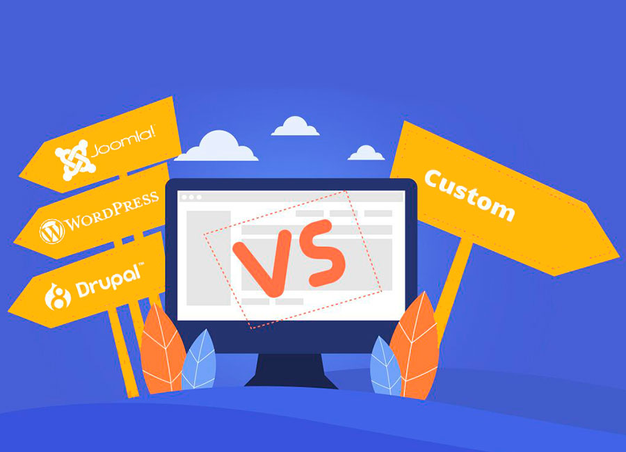 CMS vs Custom Development – What to Choose?