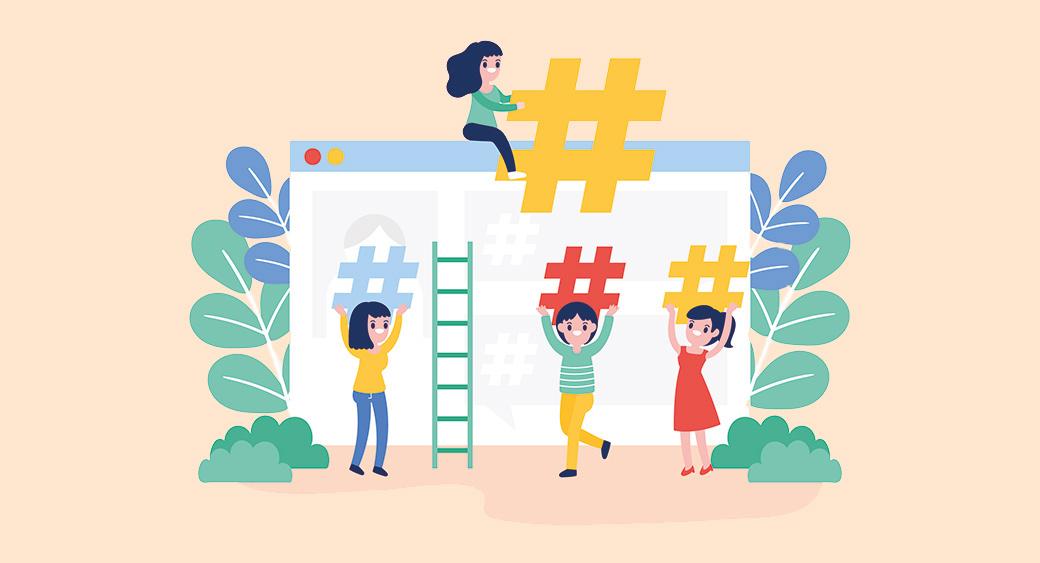 using hashtags for emotional branding