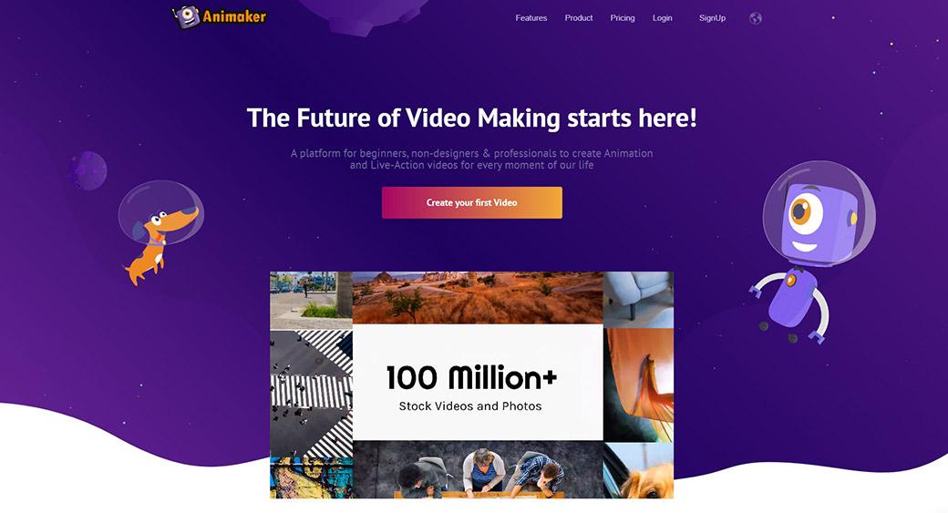 Animaker - video making tool