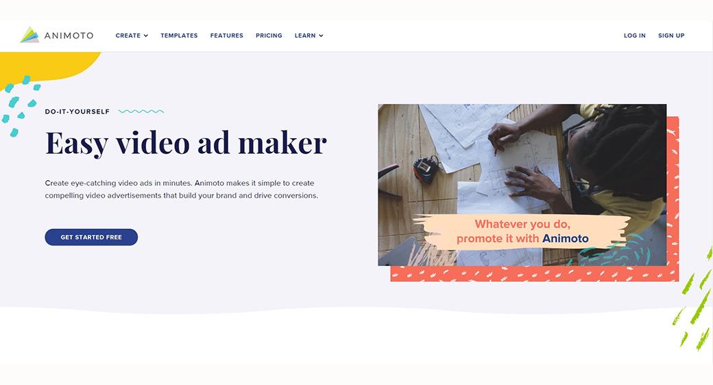 Animoto - Video ad maker