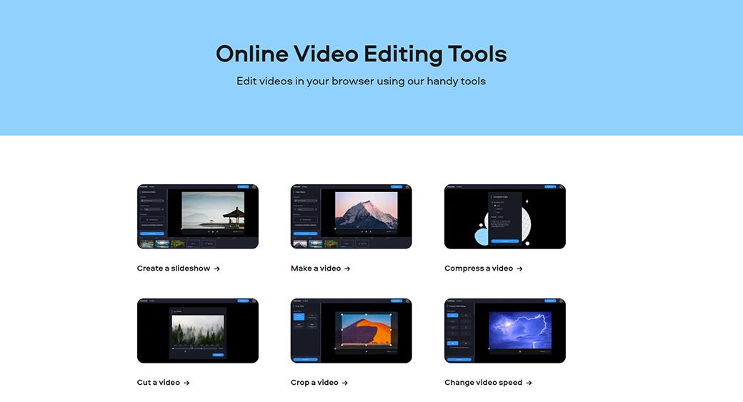 Fastreel - video editing tool