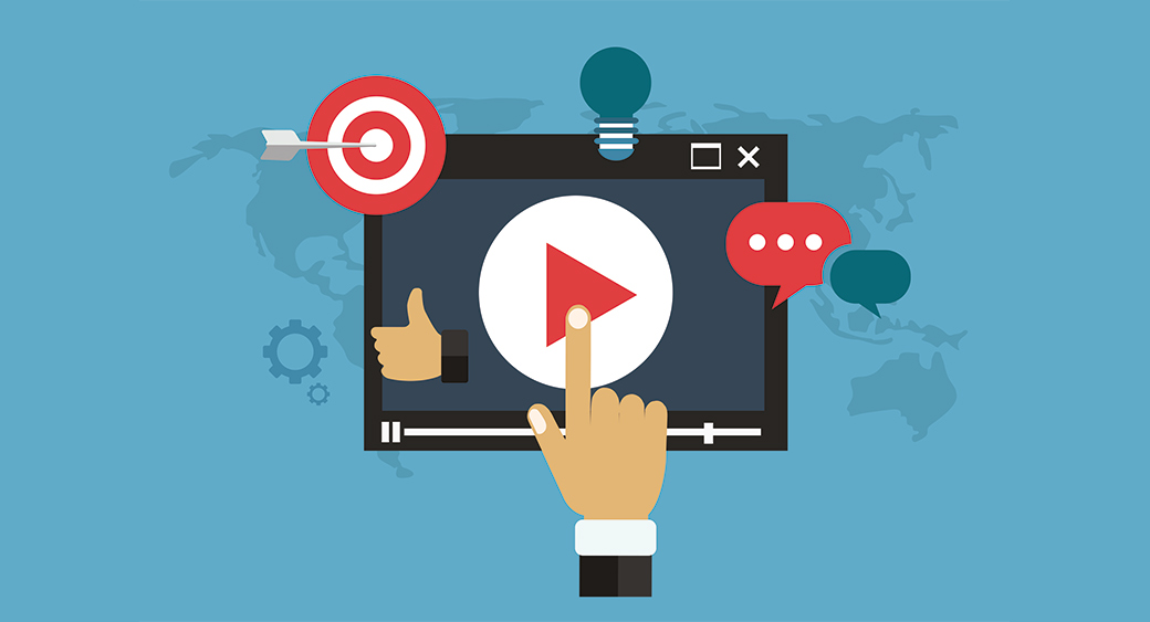 Video Advertising - Clicking Play Button