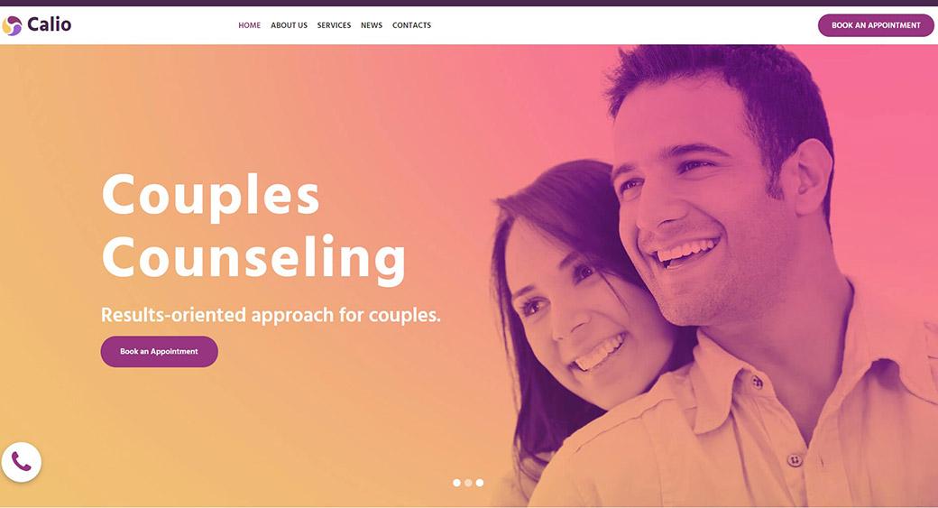 website theme readability