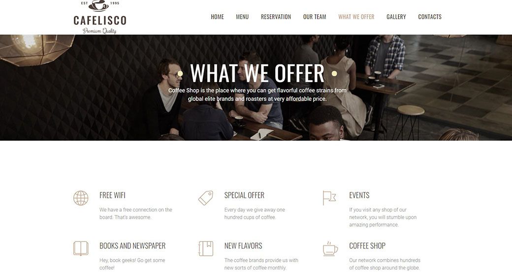 choosing brand colors for a restaurant website design