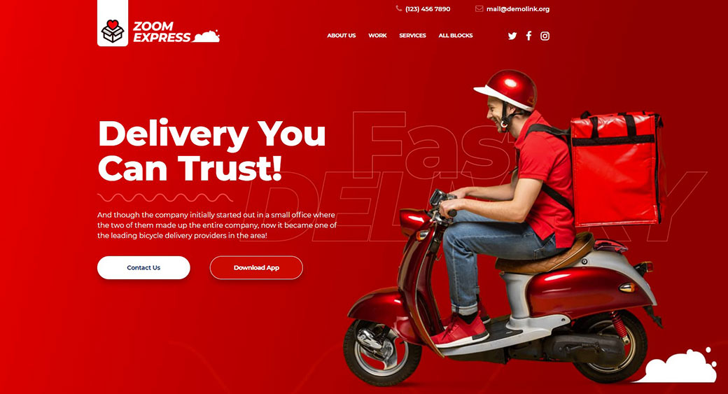 delivery services company