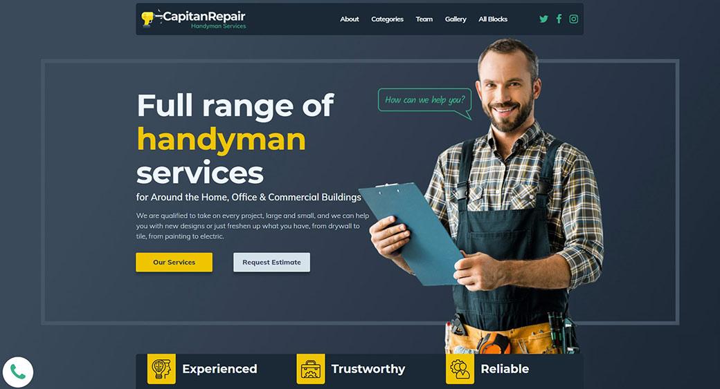 handyman services website