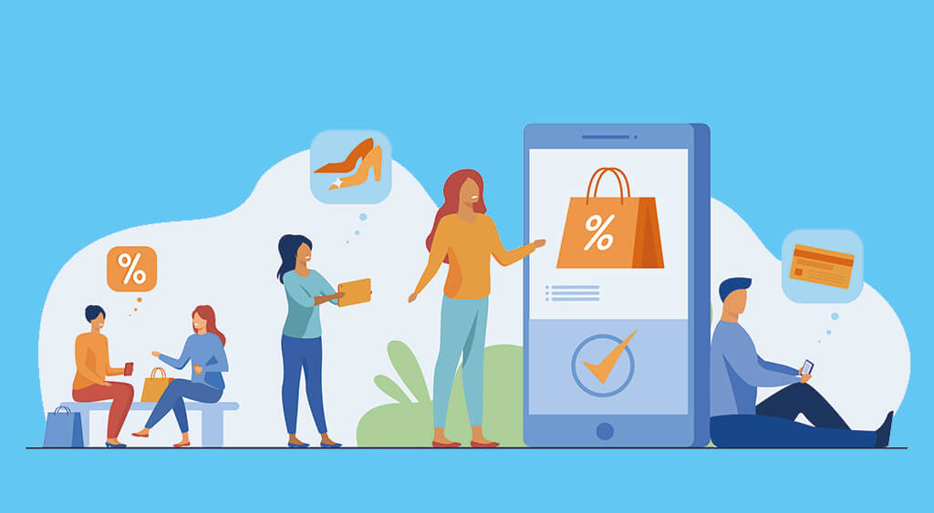 CRM and marketing automation software in shopping