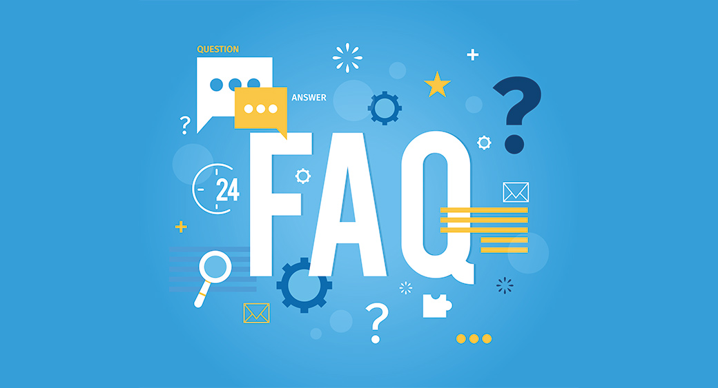 Concept of FAQ page