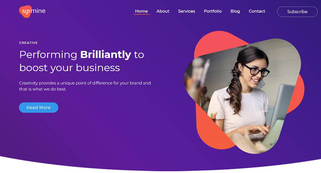 high quality website for businesses