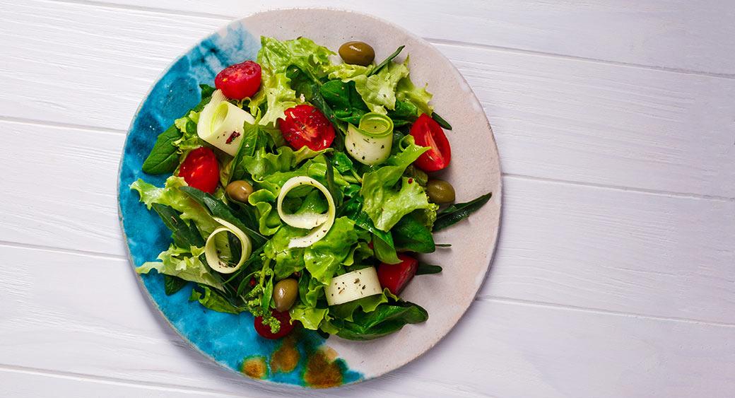 using stock photos for a restaurant website design