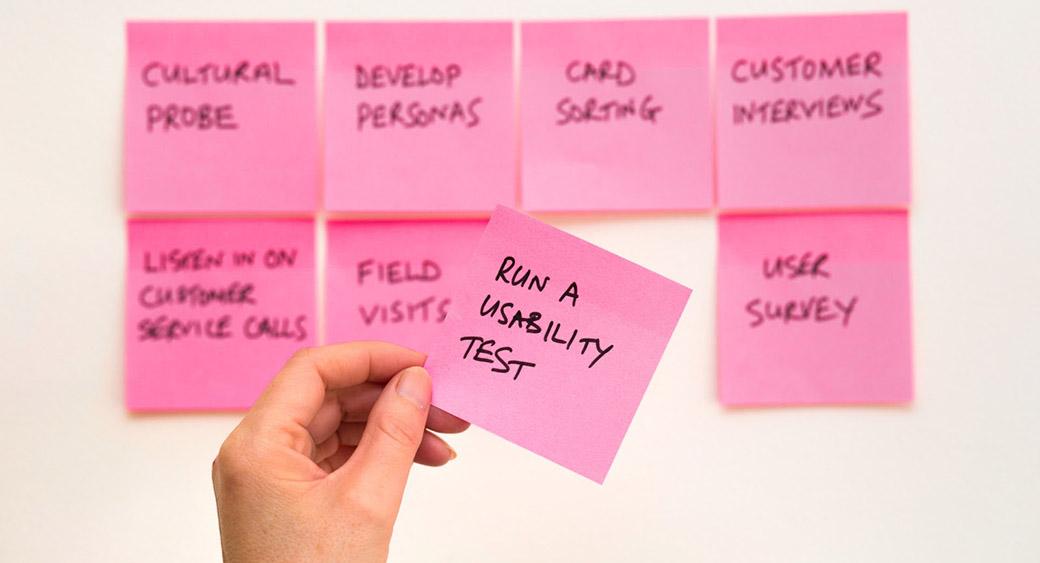 checking website's usability
