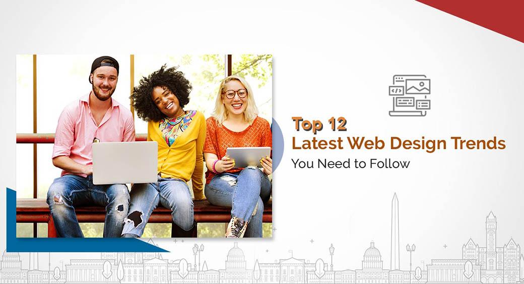 top web design trends 2020