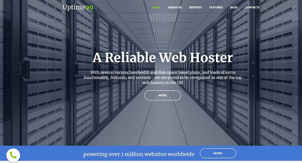changing a hosting website
