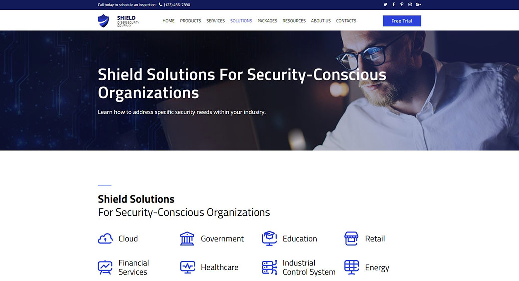 security and CMS for businesses