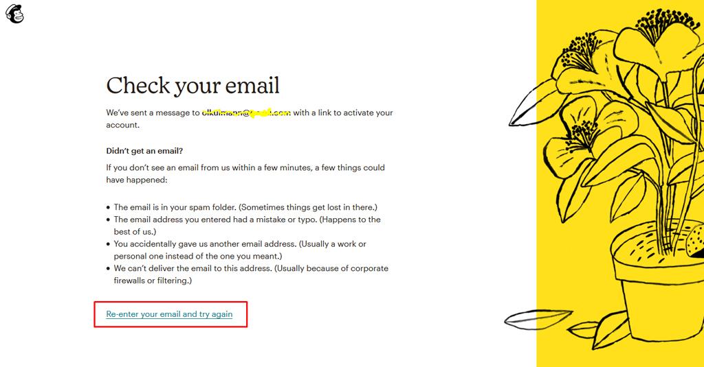 6 e mail kampagne mailchimp anmeldung