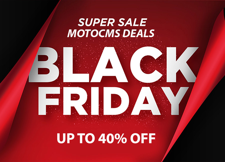 Best Black Friday Website Deals from MotoCMS – Get All the Benefits!
