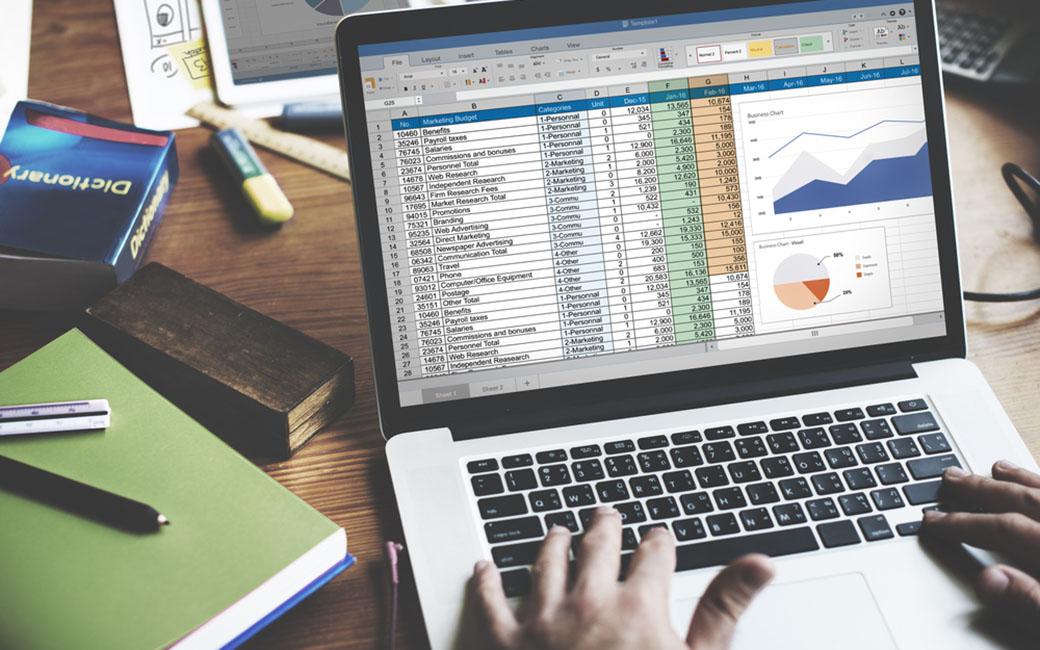 Design a Spreadsheet Based On the Keywords
