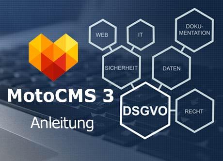 MotoCMS3-Website fit für die EU Datenschutzgrundverordnung machen