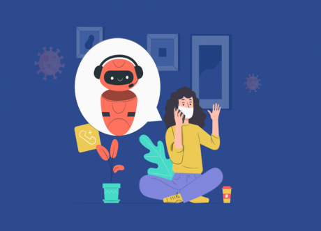 Are AI-Driven Chatbots Driving the COVID-19 Battle?