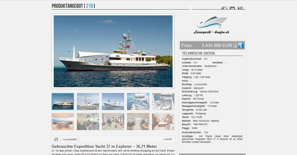 yacht website luxus yacht kaufen
