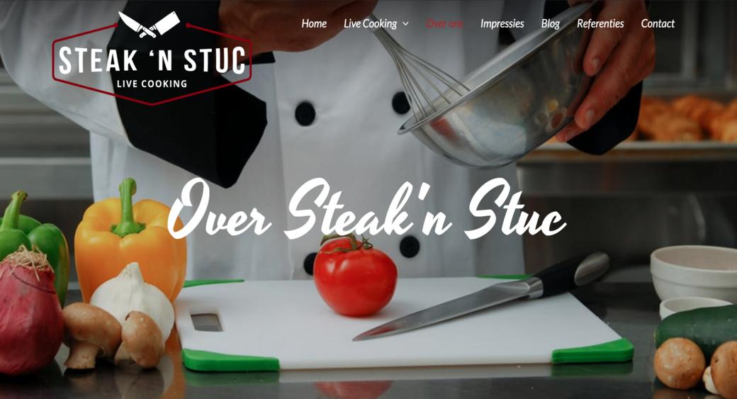 restaurant website template from MotoCMS