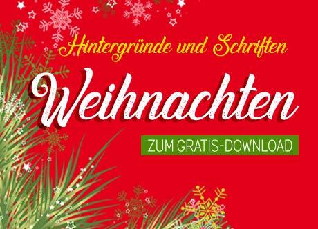 Weihnachten: Hintergründe und Schriften zum gratis Download