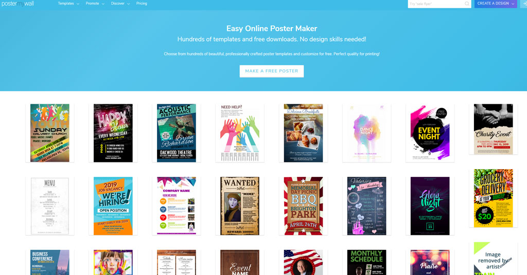 online Grafikdesign programme gratis Poster My Wall